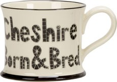Cheshire Born & Bred Mugs