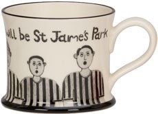 St James's Always Will Be Mugs