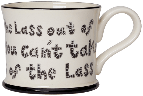 Lass Out of Yorkshire Mugs